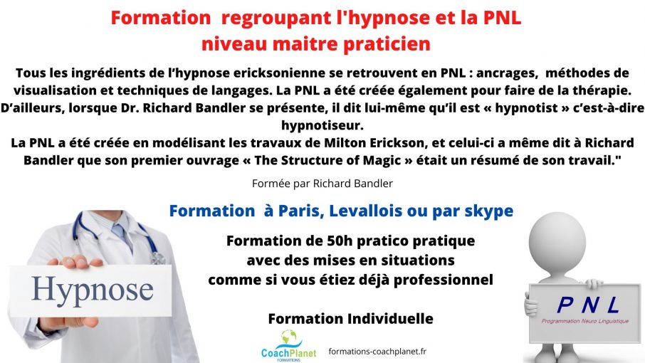 formations hypnose PNL