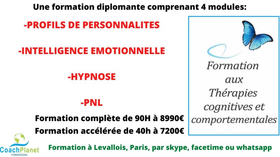Formation thérapies cognitives et comportementales coachplanet