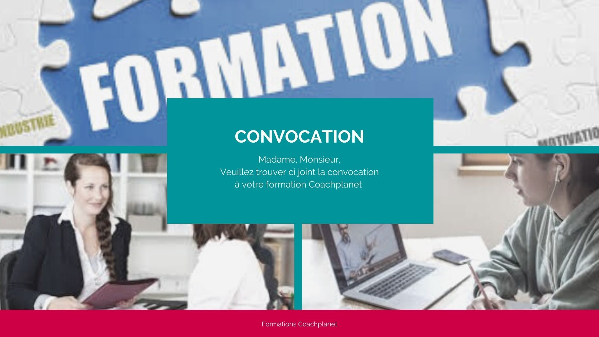 convocations formations coachplanet